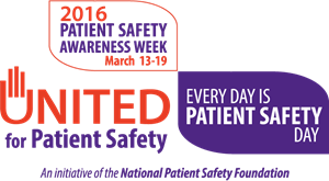 Patient Safety Awareness Week '16