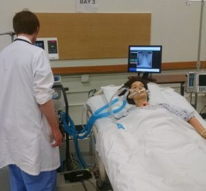 Residents could touch and manipulate ventilators to develop familiarity and reduce anxiety - without putting patients at risk.